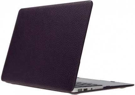 "Чехол для Macbook Pro 15"" Heddy Leather Hardshell violet"