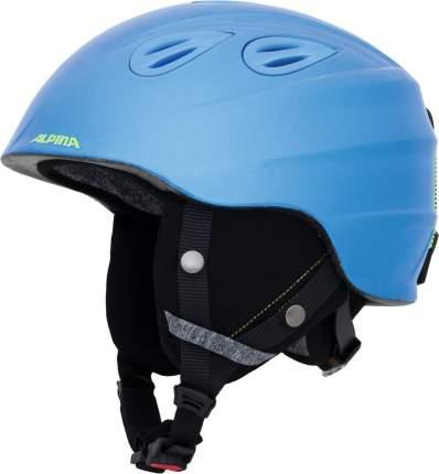 Горнолыжный шлем Alpina Grap 2.0 JR 2019, синий/желтый, S