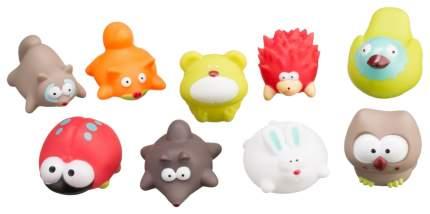 Набор игрушек для ванной Лесные жители 9 штук