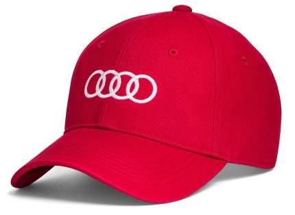 Кепка Audi Quattro VAG 3131701010 красная
