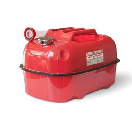 Канистра топливная металлическая горизонтальная 20 Л (красная) AVS HJM-20
