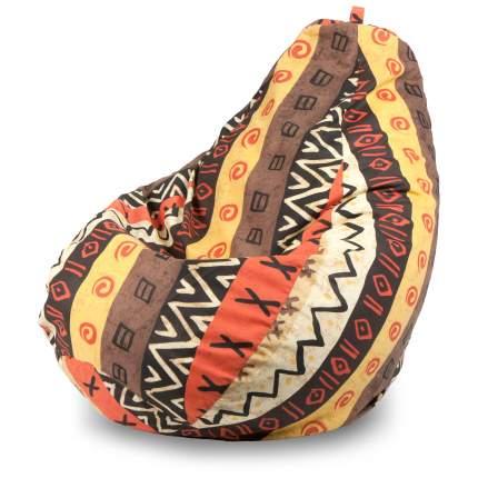 Внешний чехол Кресло-мешок груша  XL, Жаккард Африкан