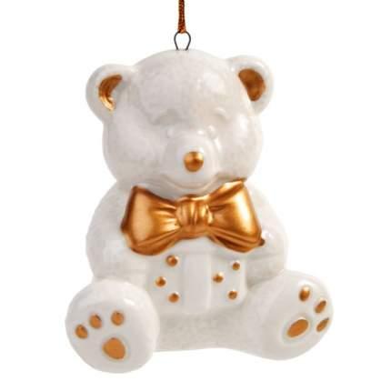 Елочная игрушка Феникс Present мишка, 8,1х6,9х5,9 см