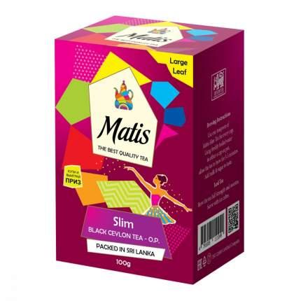 Чай Matis Slim черный с добавками 100 г