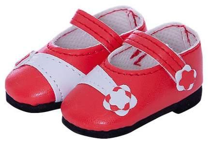 Обувь для кукол Paola Reina Туфли красные с цветочком