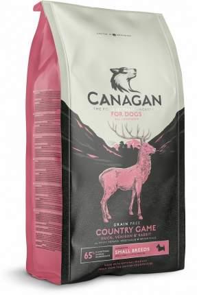 Сухой корм Canagan Gf Country Game для собак мелких пород (Утка, Оленина, Кролик, 500 г)