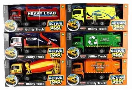 Машинка фрикционная RealToy action city городская техника в ассортименте