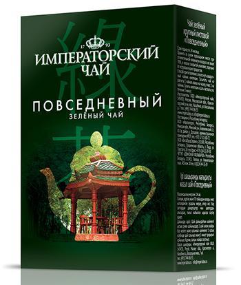 Чай зеленый крупный листовой повседневный