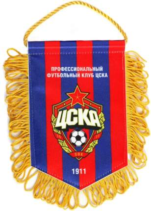 Вымпел ПФК ЦСКА 1653005 желтый/красный/синий