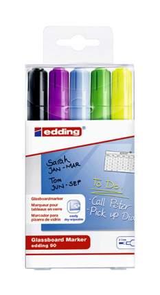 Набор маркеров Edding 90 E-90#5S#999 Черный 5 шт