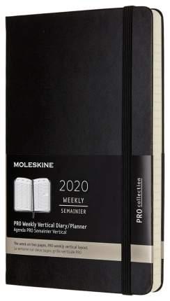 Еженедельник MOLESKINE Pro Vertical DHB12PRO3 Черный