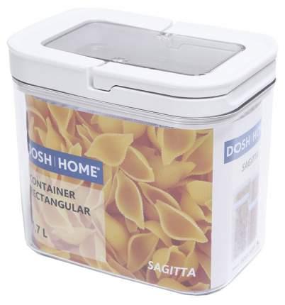 Контейнер пищевой Dosh   Home Sagitta 600133 Белый, прозрачный
