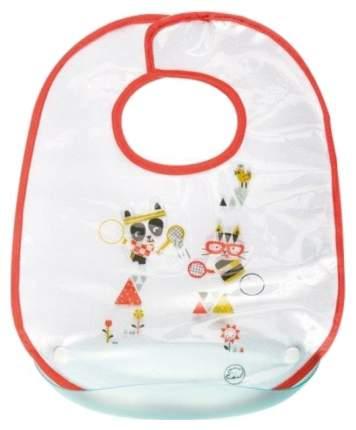Нагрудник непромокаемый Bebe Confort Sport с пластиковым кармашком, 4+ мес,