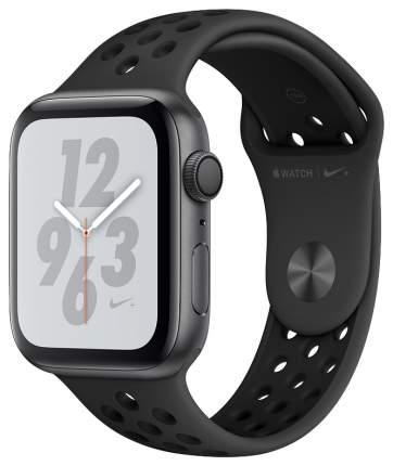 Смарт-часы Apple Watch Series 4 Nike+ 44mm Space Gray Al/Black Nike Sport Band (MU6L2RU/A)