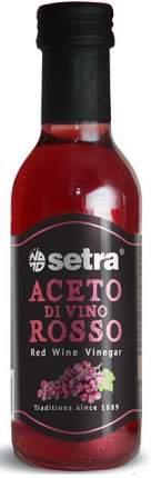 Уксус Setra 4% из красного вина 250 мл