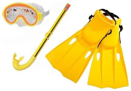 Набор для плавания Intex Приключения с55954, 3-8 лет, желтый/прозрачный