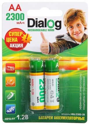 Аккумуляторная батарея Dialog HR6/2300-2B 2 шт