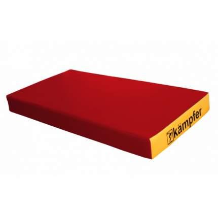 Детский спортивный мат Kampfer №1 (100 x 50 x 10 см) красно-желтый