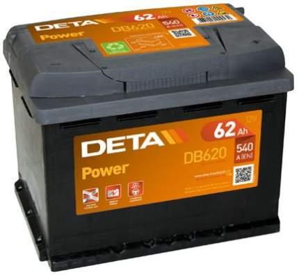 Аккумулятор автомобильный DETA DB620 62 Ач