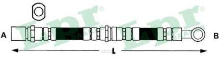 Шланг тормозной Lpr 6T47407