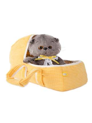 Мягкая игрушка BUDI BASA Кот Басик Baby в люльке 20 см