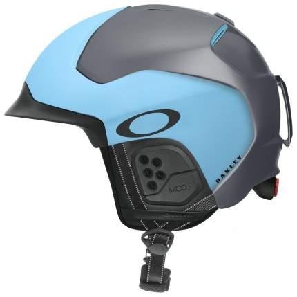 Горнолыжный шлем мужской Oakley Mod 5 2019, темно-голубой, L