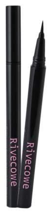 Подводка для глаз Rivecowe Flexible Liquid Brush Pen Eyeliner 0,65 мл