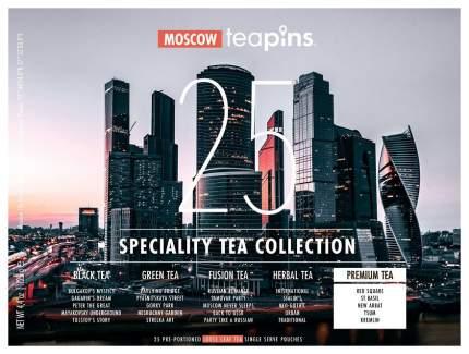 Подарочная коллекция листового чая Moscow Teapins 25 видов чая 25 пакетиков