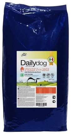 Сухой корм для собак Dailydog Senior Medium Large Breed, для пожилых, индейка и рис, 12кг