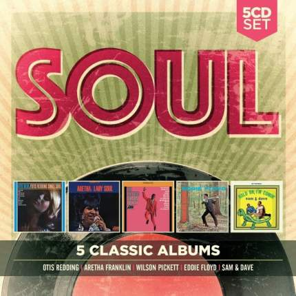 "Аудио диск Various Artists ""5 Classic Albums: Soul"""