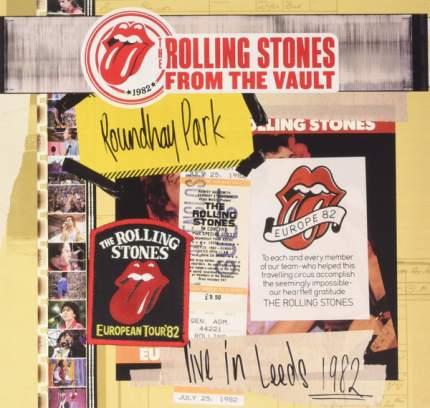"""Виниловая пластинка The Rolling Stones """"Live In Leeds 1982"""" (3LP+DVD)"""