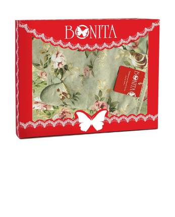 Подарочный кухонный набор из 4х пр. Bonita, Английская коллекция, зеленый