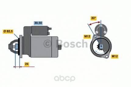 Стартер Bosch 0986011150