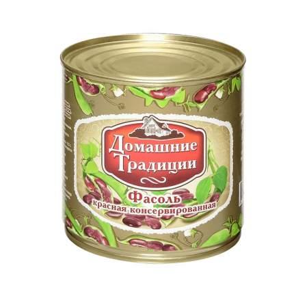 Фасоль Домашние Традиции натуральная красная 400 г