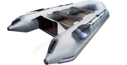 Лодка рыболовная Хантер 320 Л серая