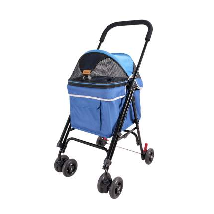 Коляска Astro Mini Pet Buggy, 80*90*32 см, синяя, Ibiyaya