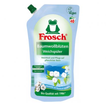 Ополаскиватель для белья Frosch цветы хлопка  1 л
