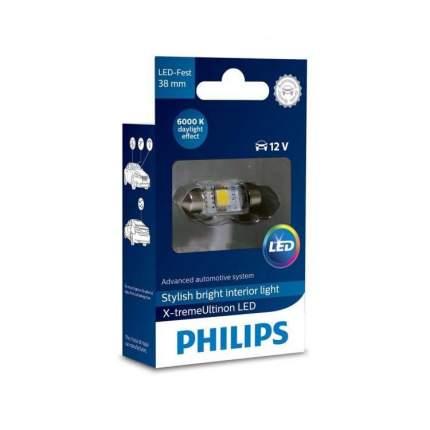 Светодиодные габариты C5W 38mm Philips X-Treme Vision 4000K