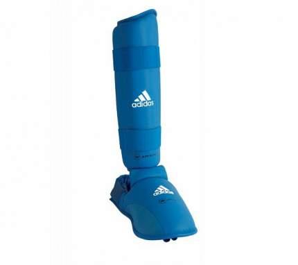 Защита голени и стопы Adidas WKF Shin & Removable Foot синяя M