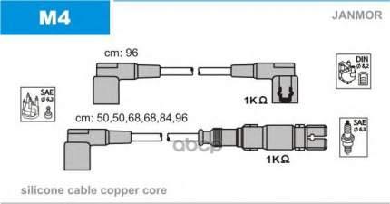 Комплект проводов зажигания JANMOR M4