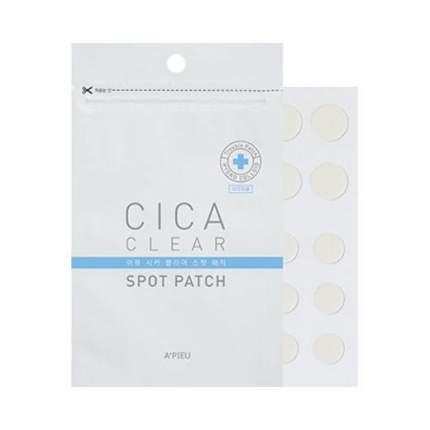 Патчи для экстренного лечения прыщей A'PIEU Cica Clear Spot Patch