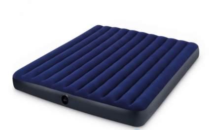 Intex, 64755, Надувной матрас Classic Downy Airbed Fiber-Tech, 183х203х25см