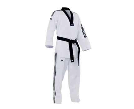 Добок Adidas WTF Adi-SuperMaster 2, white/black, 190