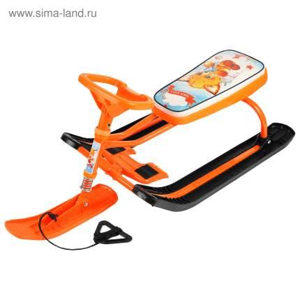 Снегокат Тимка спорт1 Лисенок Nika-kids (оранжевый каркас) ТС1/Л