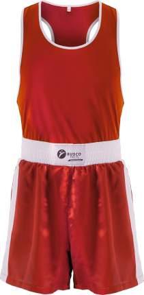Форма боксерская Rusco Sport BS-101, детская, красный (42)