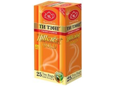 Чай черный в пакетиках для чашки Ти Тэнг Hillcrest Gold 25*2.5 г