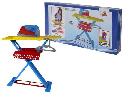 Набор для уборки игрушечный Полесье Утюжок 2х1