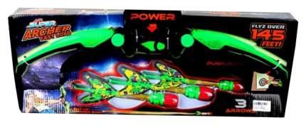 Лук электрический Наша Игрушка со стрелами 3 шт. 4581