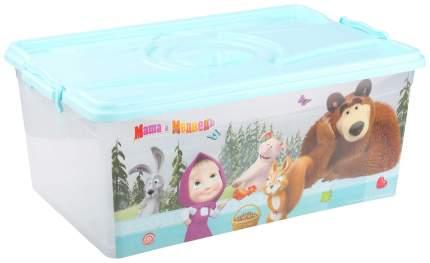 Ящик для хранения игрушек Альтернатива Маша и Медведь М7316