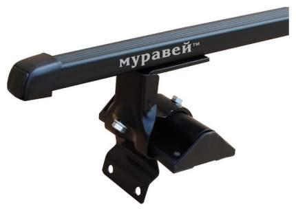 Муравей Багажник с дугами 1,2 м, прямоугольными 20х30 мм, в пластике.